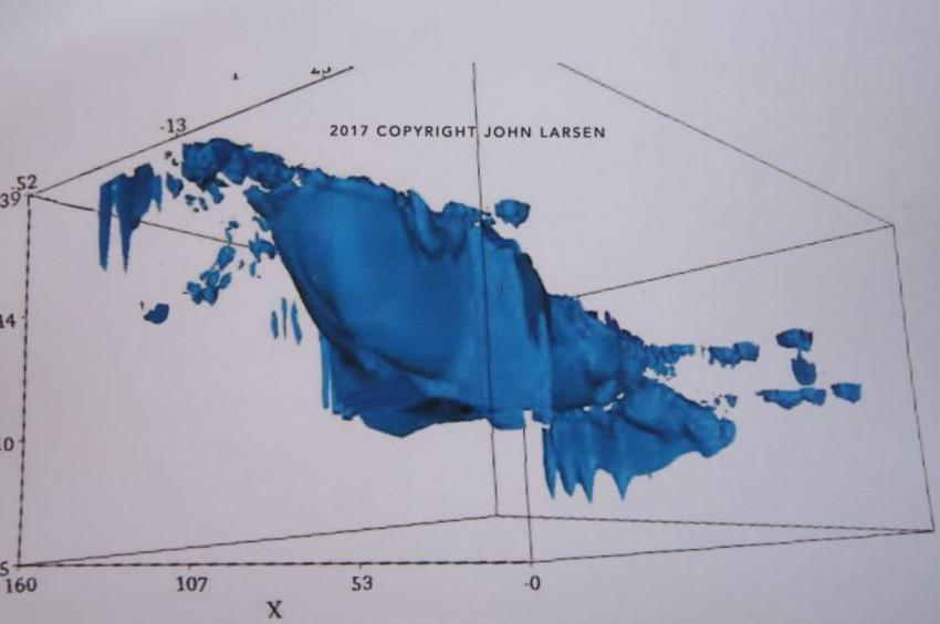 Ağrı Dağındaki Nuhun Gemisinin 3D görüntüleri