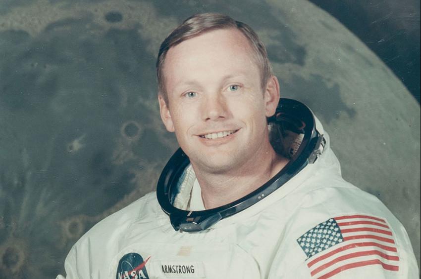 Ay'a Ayak Basan İlk İnsan Neil Armstrong ve Ekibinin Anıtkabir Ziyareti