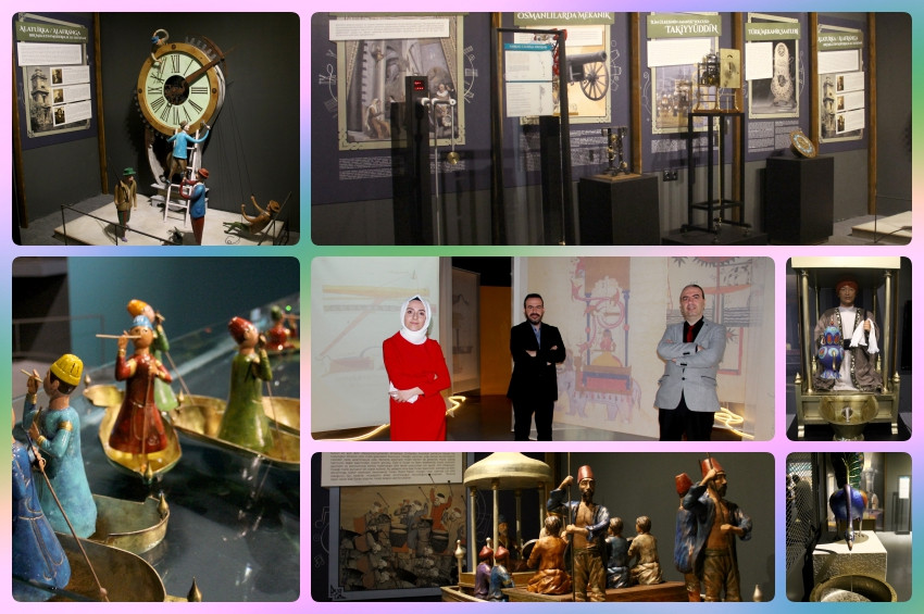 Cezerinin Olağanüstü Makineleri sergisi UNIQ Expoda ziyarete açıldı