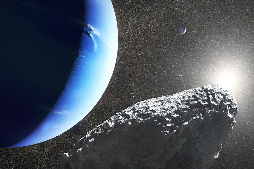 Neptünün mini uydusu diğer uydudan kopmuş olabilir