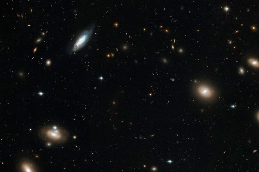 Uzayda 300 bin yeni galaksi keşfedildi