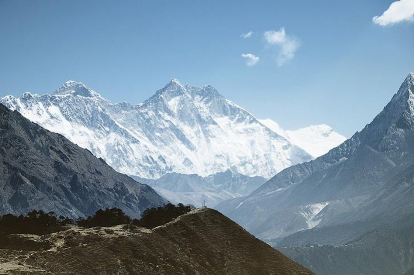 Himalaya buzulları küresel ısınma etkisiyle eriyecek