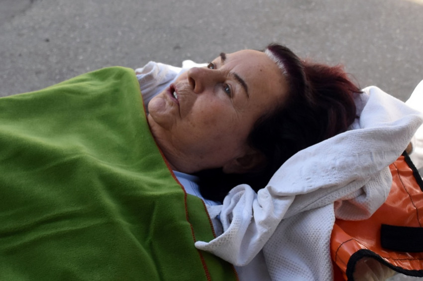 Hastanelik olan Fatma Girik, nazar değdi dedi