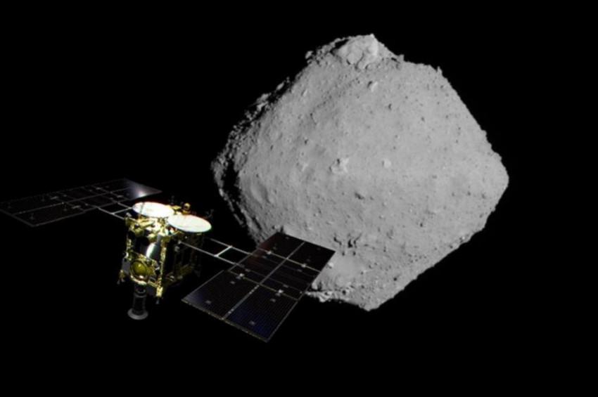 Ryugu asteroidi uzayda su için ümit verdi
