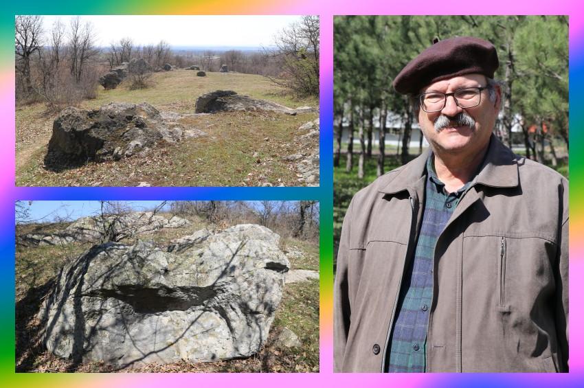 Edirnede Traklara ait tapınak ve gözlemevi bulundu