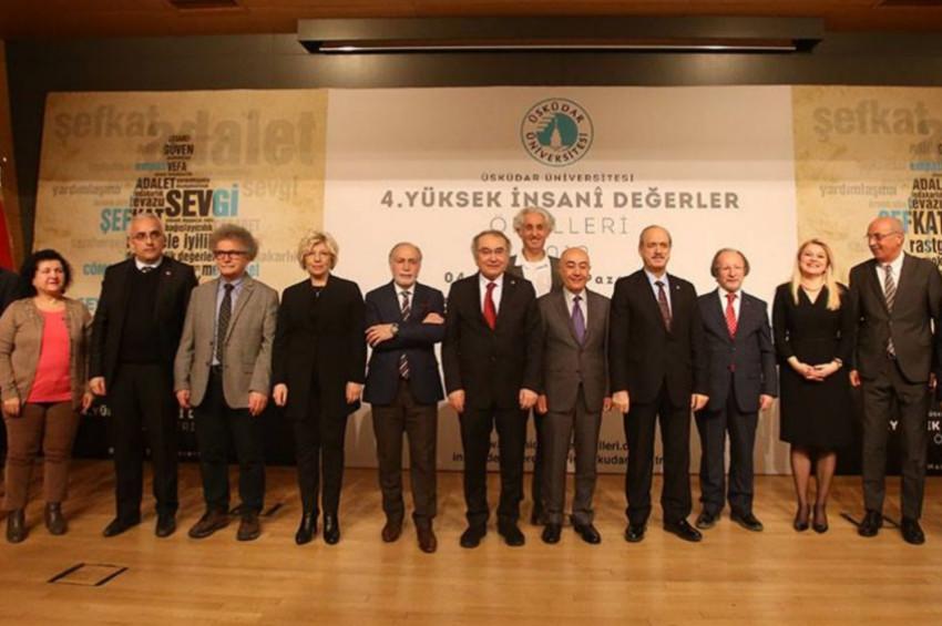 Üsküdar Üniversitesi 2019 Yüksek İnsani Değerler Ödülleri