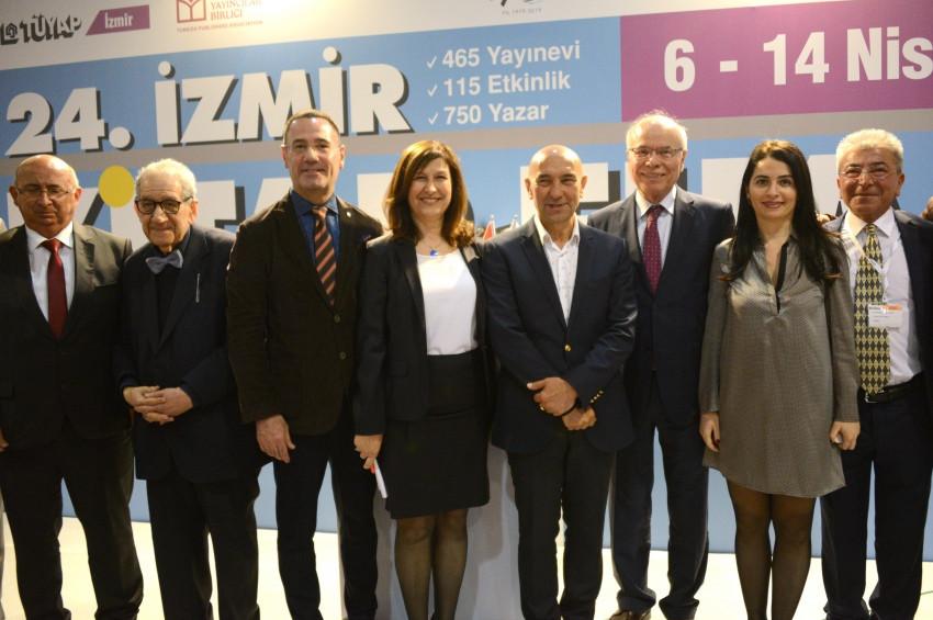 2019 İzmir Kitap Fuarı başladı