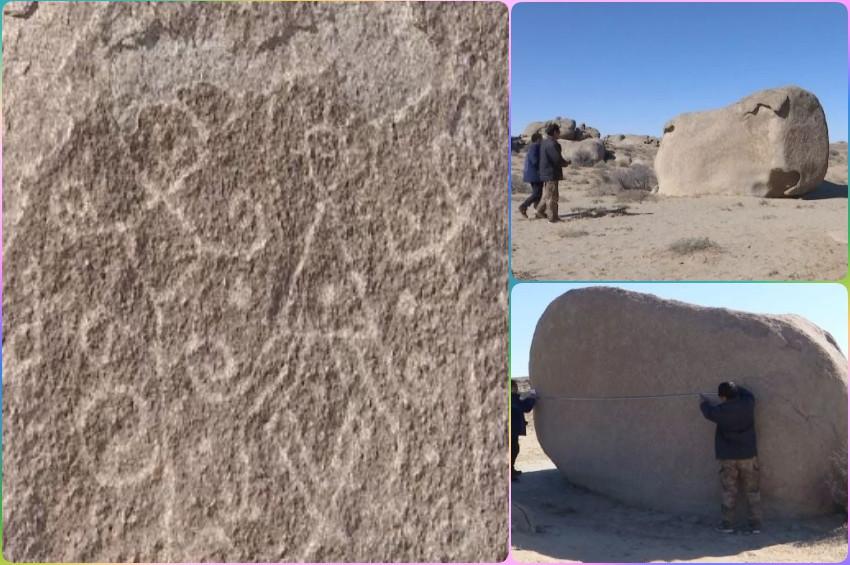 Kaya resimlerinde 4 bin yıllık doğum şenliği bulundu