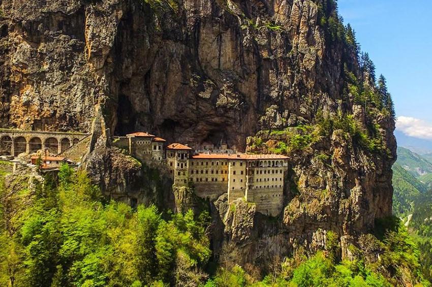 Sümela Manastırı 18 Mayısta açılıyor