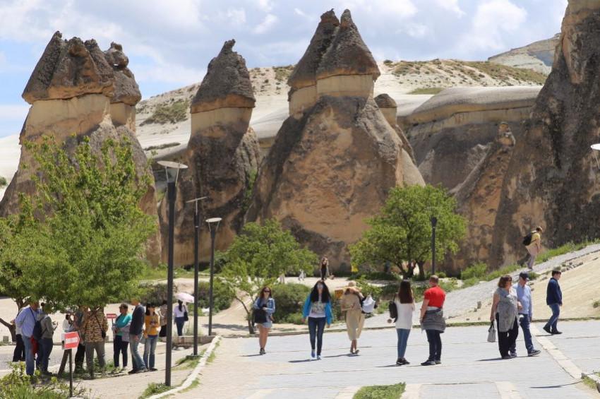 Kapadokya turizmi 2019 yılına rekorla girdi
