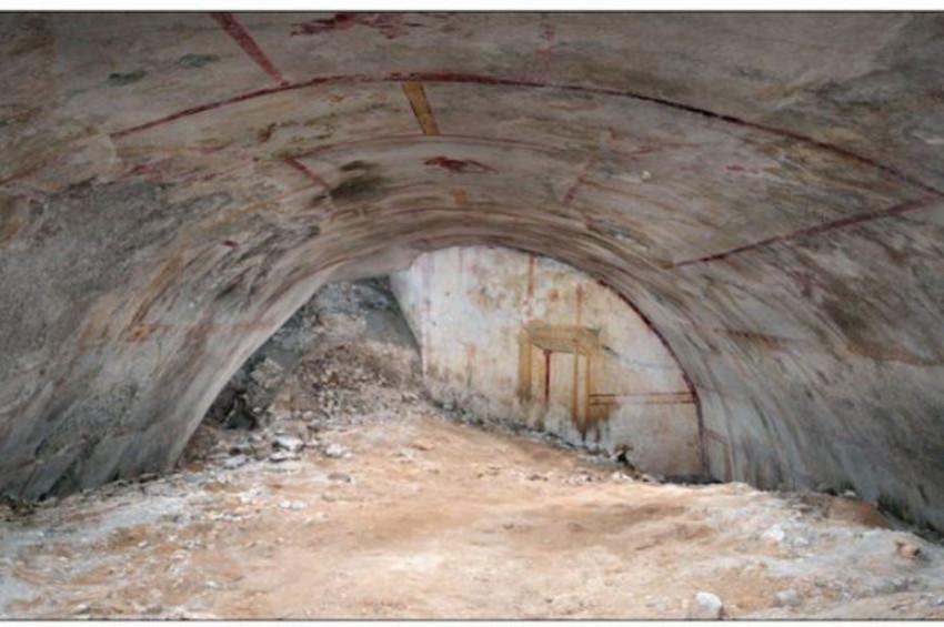 Deli Neronun sarayında gizli odası bulundu