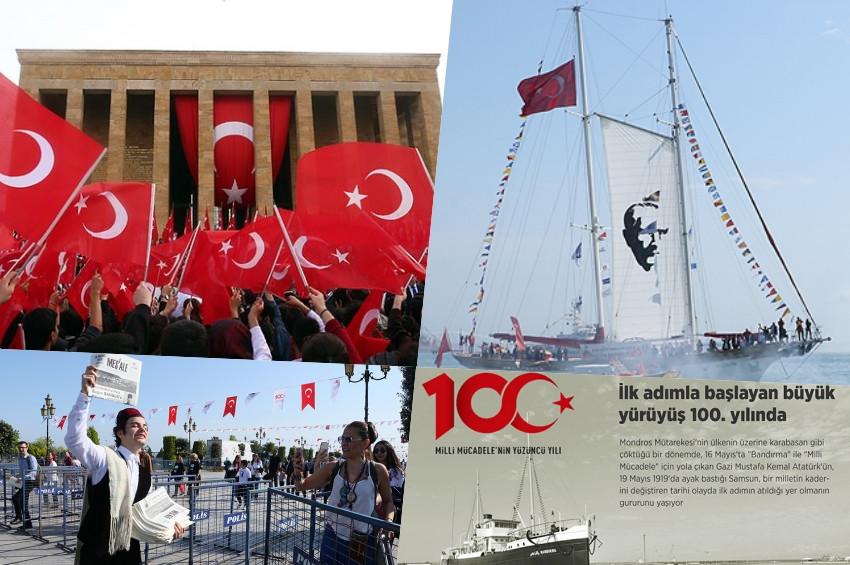 Atatürkün Samsuna çıkışının 100. yılını kutluyoruz