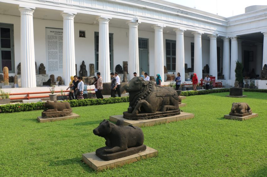 Endonezya Ulusal Müzesinden manzaralar