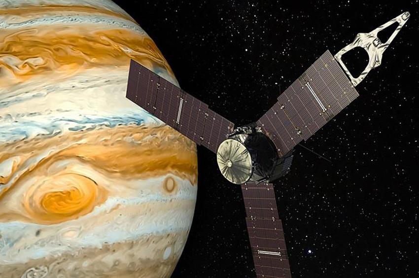 Jüpiterin manyetik alanı değişmiş