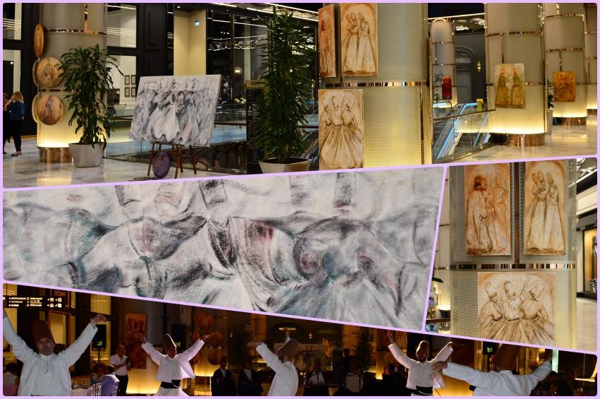 Ressam Gülçin Anılın Dönüş sergisi ünlüleri buluşturdu