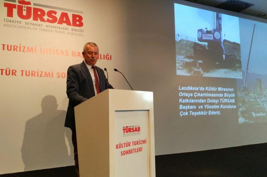 Prof. Dr. Celal Şimşek: Laodikeia inanç turizminin markası oluyor