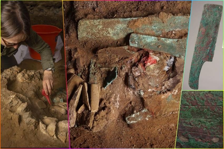 Peru'da testere, balta, bıçak ve keski ile gömülen adam