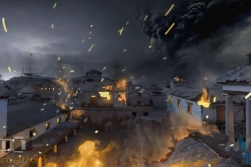 Pompeii Antik Kentinin son anları