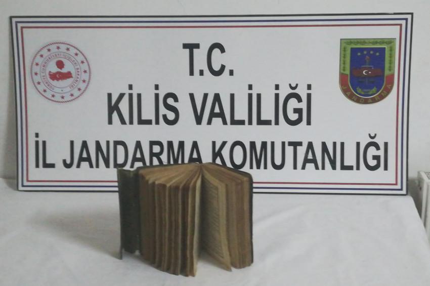 Kiliste Ali Şir Nevai eseri Çağatayca el yazması kitap yakalandı