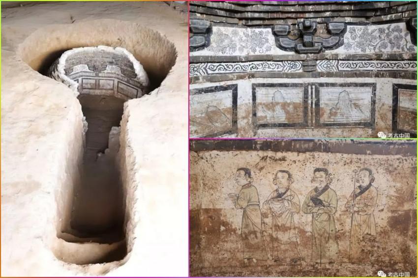 Çinde 700 yıllık türbe mezar keşfedildi