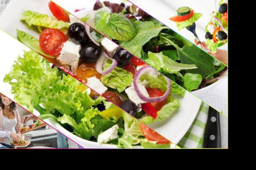 Kalorisi düşük 9 yaz salatası