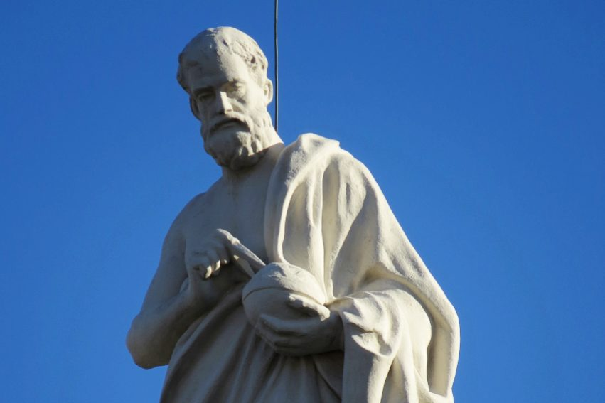 Empedokles'in tanrılaşması ve ölümü