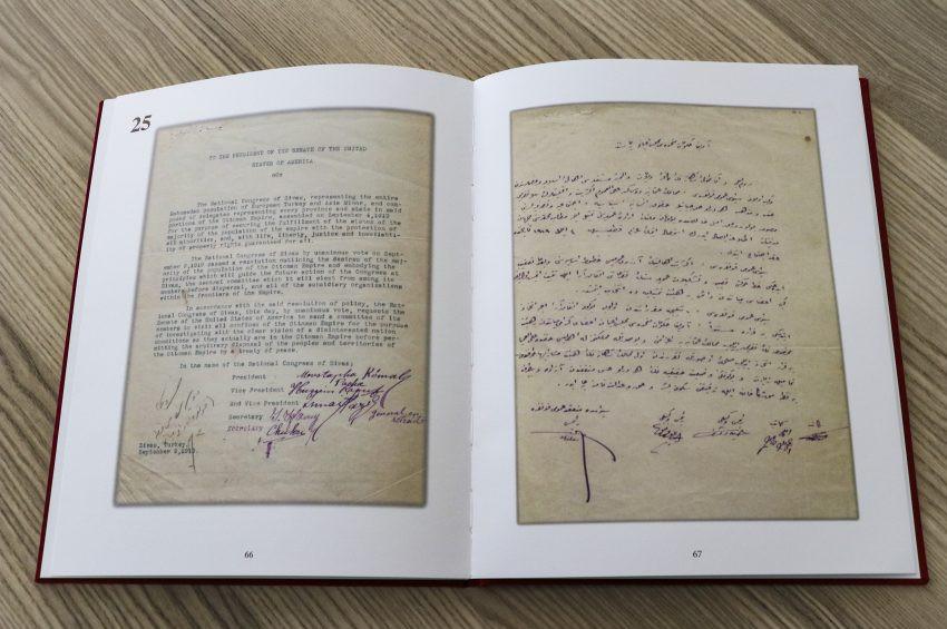 Atatürkün Mustapha Kemal Pasha imzası yayınladı