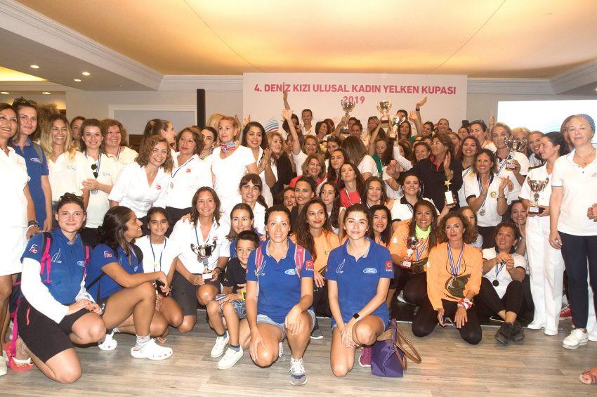 Deniz Kızı Ulusal Kadın Yelken Kupası nefes kesti