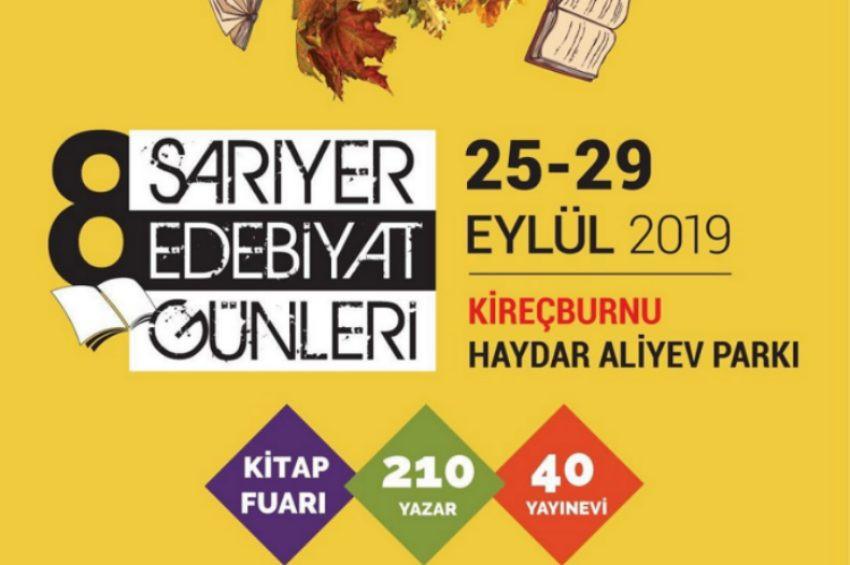 Sarıyer Edebiyat Günlerine 210 yazar katılacak