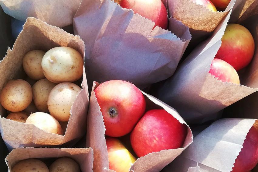 Kilo vermek için patates ve elma sabah yenmeli