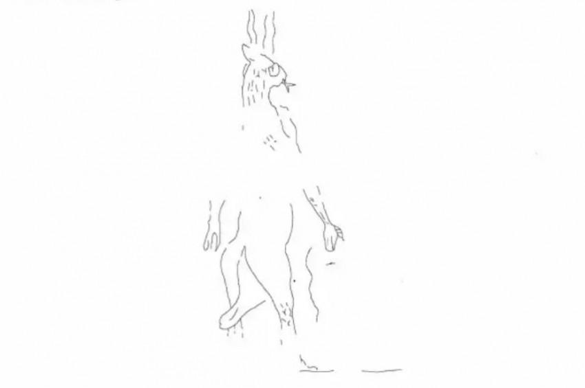 Asurluların Şeytan çizimi bulundu