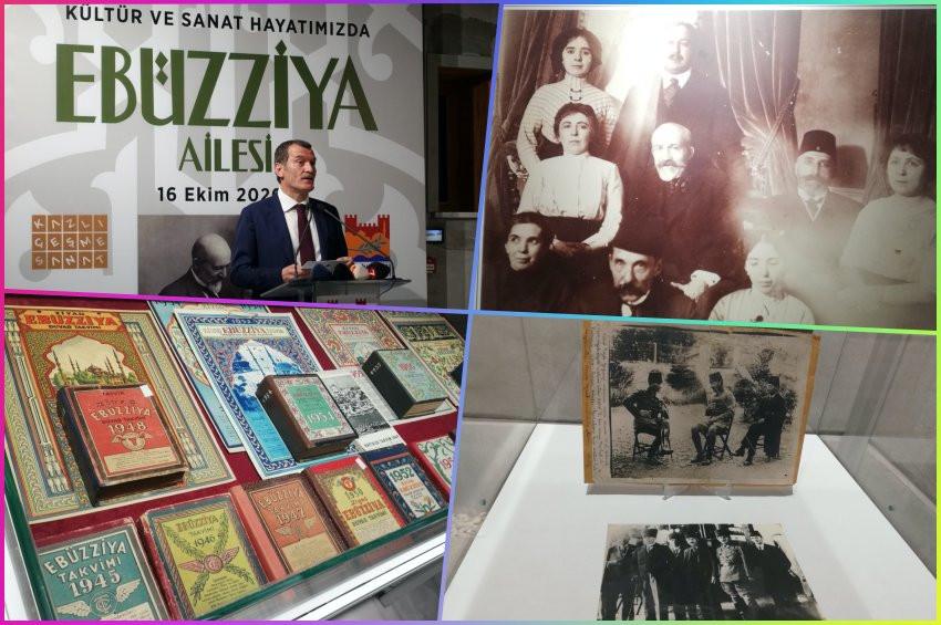 Ebüzziya Ailesinin dört kuşaklık efsanesi sergileniyor