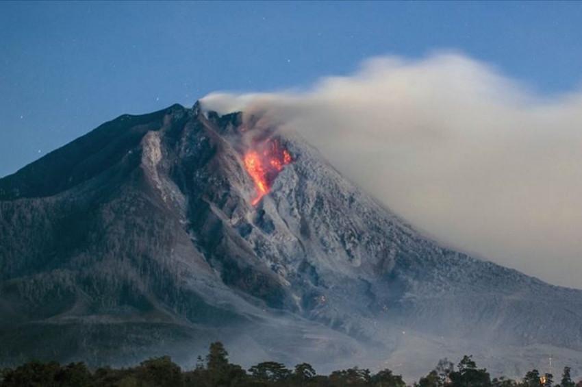 Endonezyada volkan patlaması