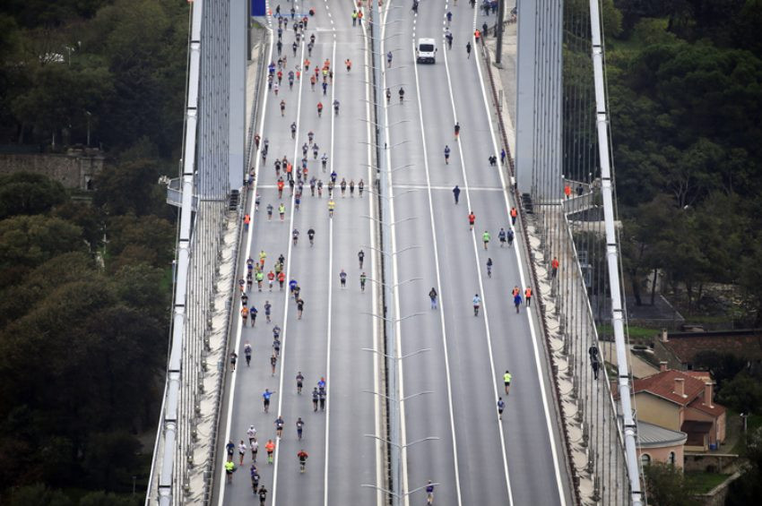 42. İstanbul Maratonu koşuldu