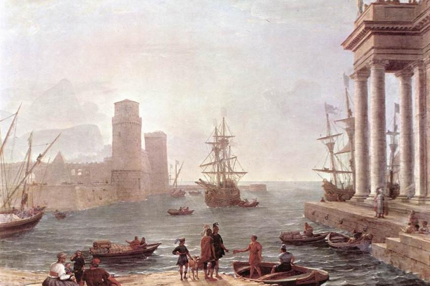 Scheria ve mitolojinin uçan gemileri