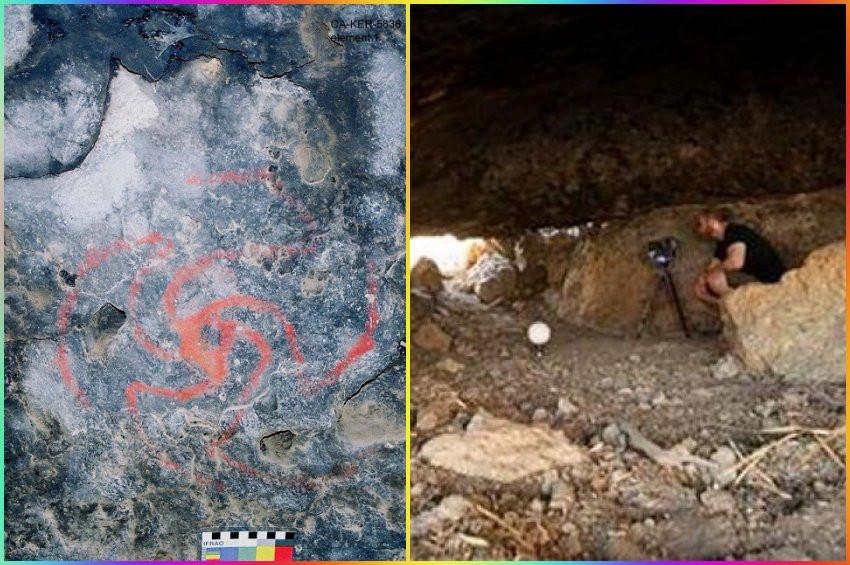 Antik kaya çizimleri ile uyuşturucu arasında bağlantı keşfedildi