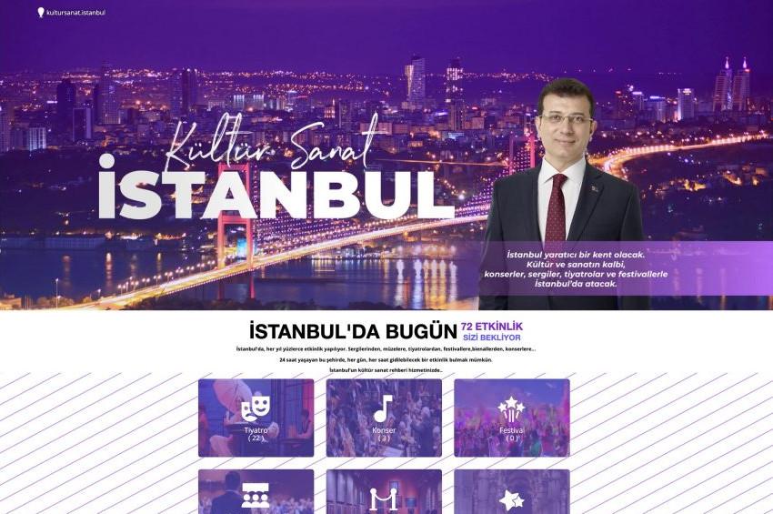 İBBden yeni site: www.kultursanat.istanbul