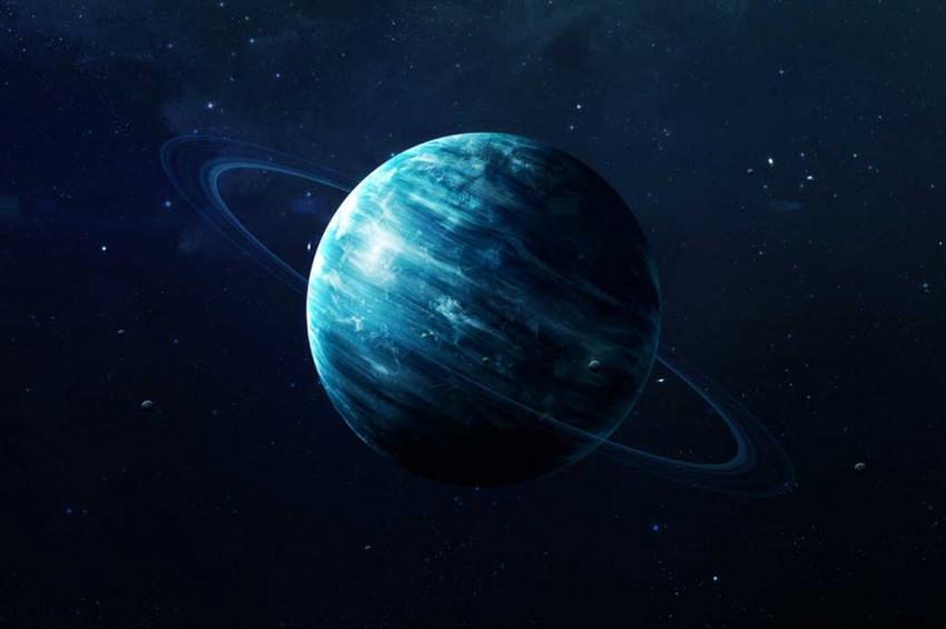 NASA Uranüsün Etrafında Bir Bulut Tabakası Keşfetti