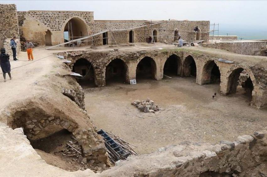 1500 yıllık Mor Kuryakus Manastırı restore ediliyor