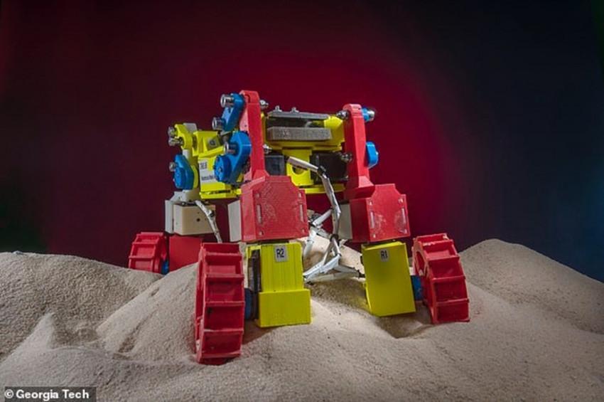 İşte NASAnın mini Mars robotu