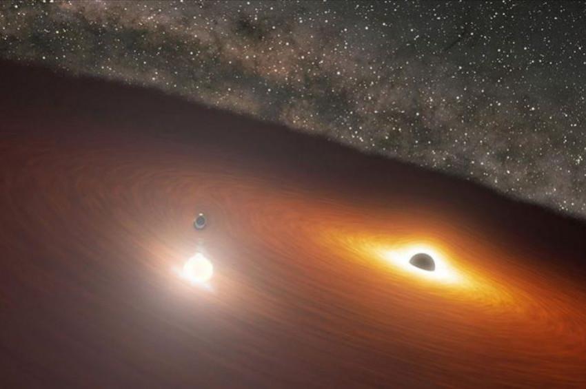 Kara deliklerdeki parlamaların hassas tahmini yapıldı