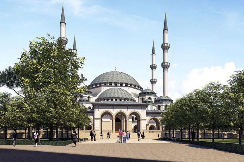 İzmirde cami hoparlörlerinden müzik yayınlandı