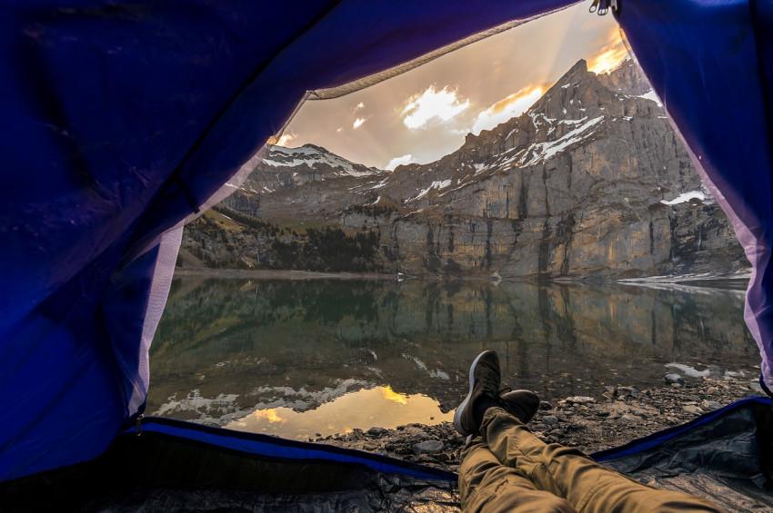 Koronavirüs salgını sonrası çadır tatilinin artması bekleniyor