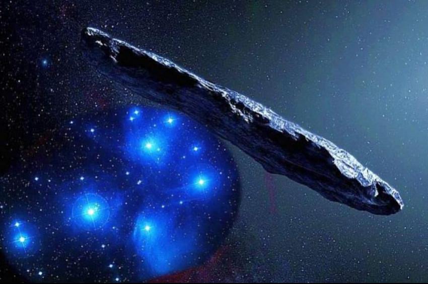 Uzayda yüzen buzdağı: Oumuamua Kuyruklu Yıldızı