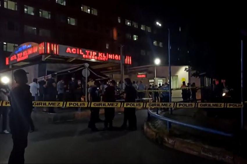 İstanbulda Bir Hastanede çıkan yangın kontrol altına alındı