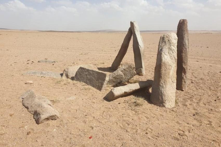 Moğolistanda Türklere ait olduğu sanılan taşlar keşfedildi