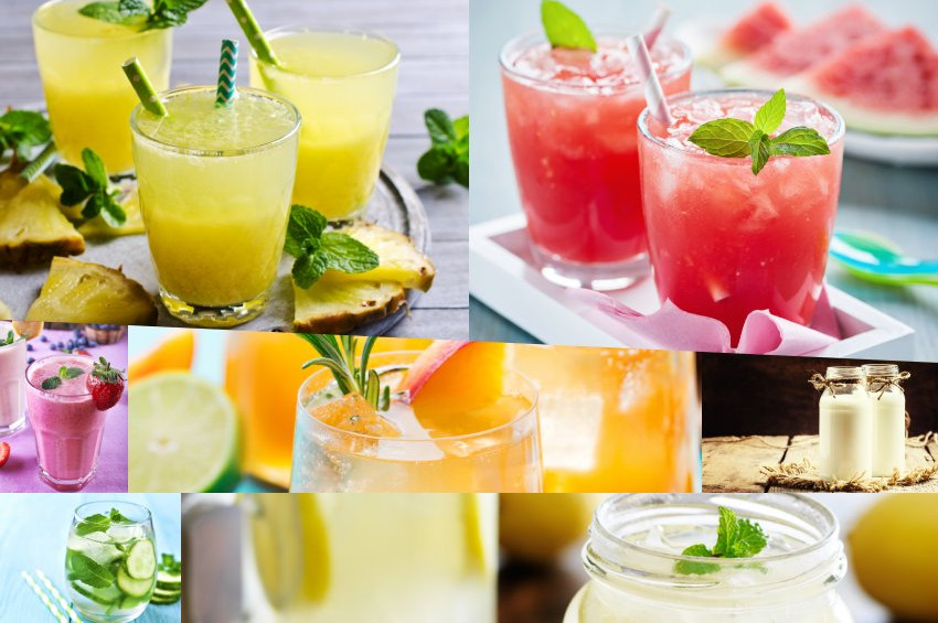 Yazın formda tutup,  ferahlatacak 7 içecek tarifi