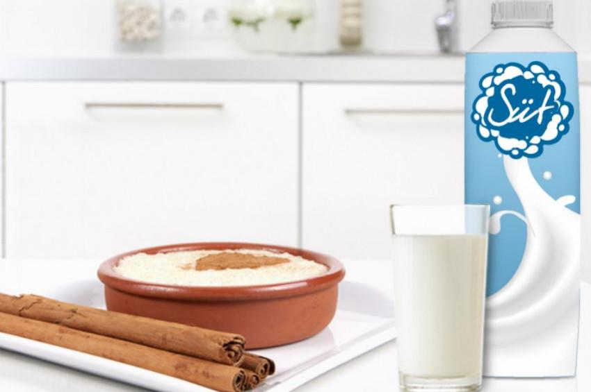Süt içmeyi sevmeyen çocuklara muhallebi yedirebilirsiniz