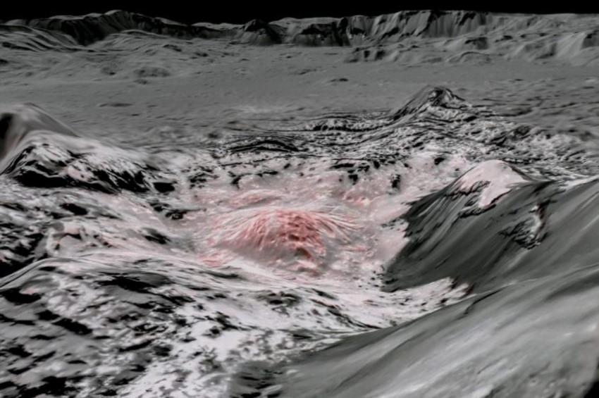 NASA Cereste su bulunduğunu açıkladı