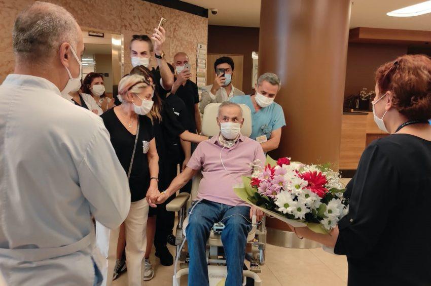 5,5 ayda Koronavirüsü yenen 73 yaşındaki işadamı, kaza mı geçirdim, dedi.